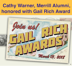 Gail Rich Awards Advertisement
