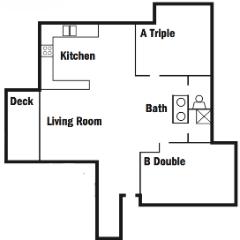 Five Person Apartments