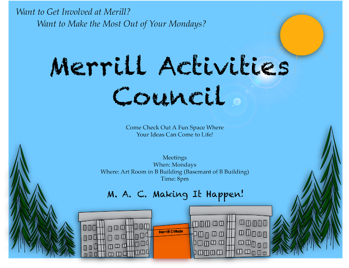 Join the Merrill Activities Council!