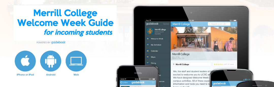Merrill College has gone mobile!